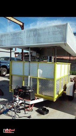 2012 - 6' x 9' Ice Cream Concession Trailer.