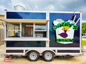 Turnkey 2019 8' x 14' Noodle / Soup / Eggroll Kitchen Food Concession Trailer.