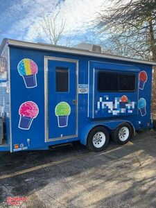 2017 - 6' x 12' Shaved Ice Concession Trailer / Sno-Cone Trailer.