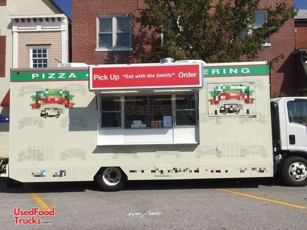2016 Isuzu NPR HD LOADED TURNKEY Pizza Catering Truck.