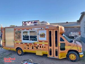 24' Diesel Ford Econoline Used Food Truck / Commercial Mobile Kitchen.