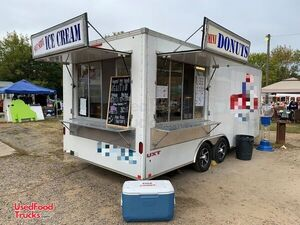 2011 8.5' x 20' Lil Orbits Minis Donut Ice Cream and Food Concession Trailer.