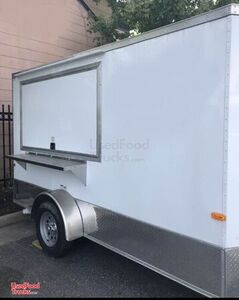 2019 - 7' x 12' Cargo Craft Food Concession Trailer with Pro Fire Suppression.