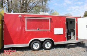 2014 - 20' Food Concession Trailer with Pro Fire Suppression.