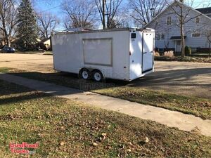 Used 2011 - 8' x 18' Spacious and Clean Food Concession Trailer.