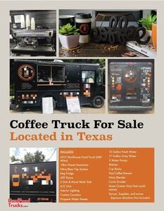 Ready to Go 2013 Workhorse 12' P42 Diesel Coffee Truck and Mobile Taproom.