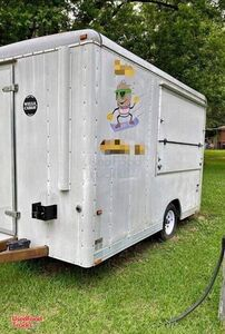 Wells Cargo 7' x 14' Shaved Ice Concession Trailer / Used Snowball Trailer.