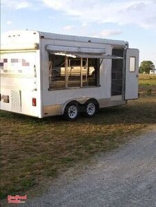 2012 Haulmark 8' x 17' Soft-Serve Ice Cream Concession Trailer.