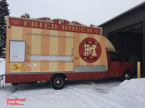 2012 16' Chevrolet Box Truck Kitchen Food Truck/ Used Mobile Kitchen.