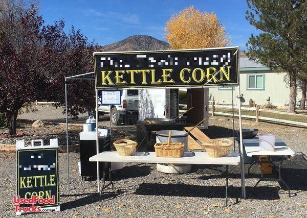 Well-Kept Turnkey 2006 8' x 12' Popcorn Concession Stand / Kettle Corn Business.