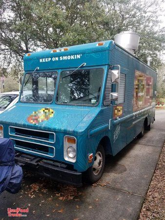 Chevy P30 Used Turnkey Food Truck.