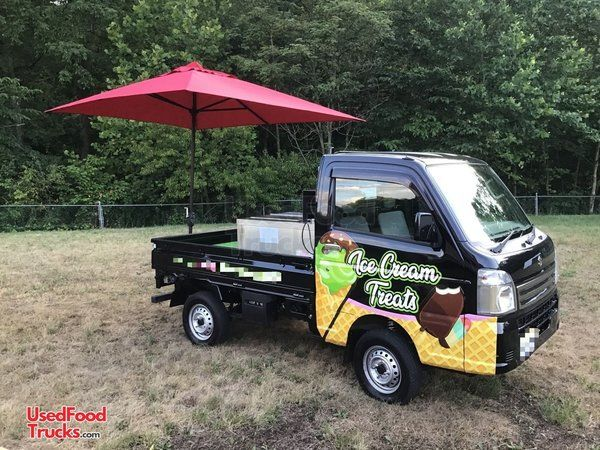 2017 Suzuki Mini Pick-Up Ice Cream Truck / Mobile Ice Cream Business.