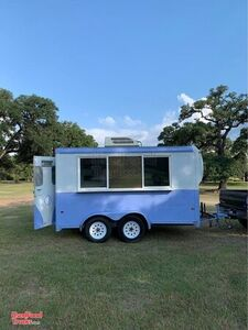 Ready to Sell 7' x 12' Shaved Ice Concession Trailer / Mobile Snowball Business.