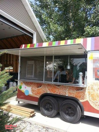 8' x 16' Century Food Concession Trailer / Used Mobile Food Unit.