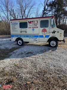 "Vintage Classic 1975 - 9'3"" International Ice Cream Truck."