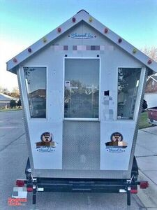 Ready for Business Shaved Ice Concession Trailer / Used Snowball Trailer.