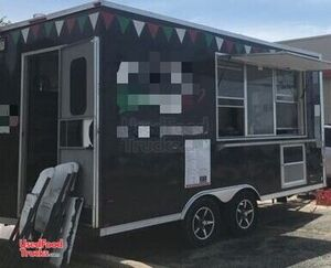 2016 - 7' x 16' Pizza Concession Trailer / Turnkey Ready Pizzeria on Wheels.