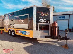 8' x 28' Head-Turning Mobile Kitchen Food Concession Trailer.