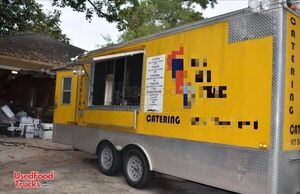 16' Fried Food Concession Trailer / Ready for Business Mobile Kitchen.
