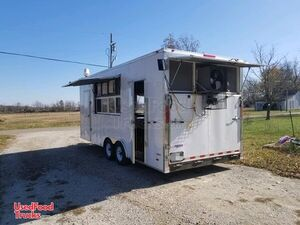 Turnkey Ready 22' Freedom Stone-Grilled Pizza Biz / Pizza Concession Trailer.