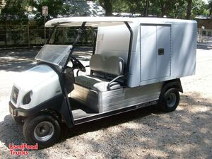 2018 Club Car Carryall 700 5' x 10' Mini Street Food Vending Truck / Cart.