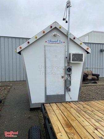Craigslist sno shack shaved ice building