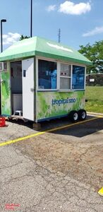 2012 - Tropical Sno Shaved Ice Concession Trailer / Snowball Trailer.