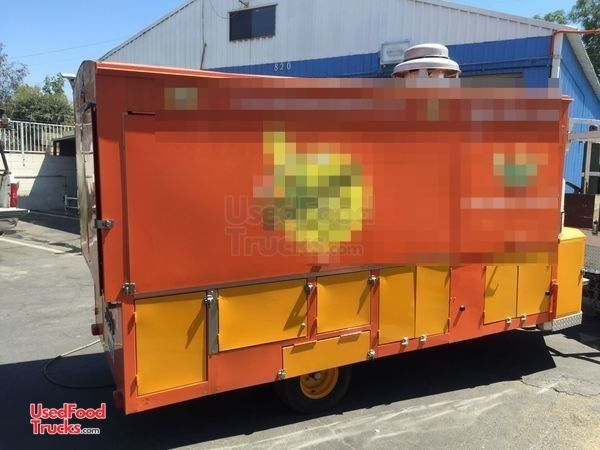 2013 - 5' X 10' Corn Roaster Concession Trailer/Commercial Corn Roaster.
