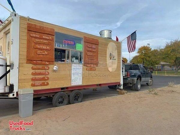 8' x 20' Fully Licensed 2013 Custom-Built Food Concession Trailer.
