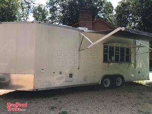 2008 V-Nose Mobile Kitchen Food Trailer/Concession Trailer.