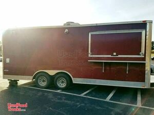 2013 - 8' x 20' Food Concession Trailer.