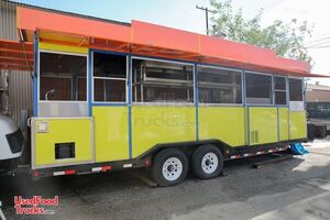 Fully-Loaded 2015 32' Kitchen and Catering Food Trailer.