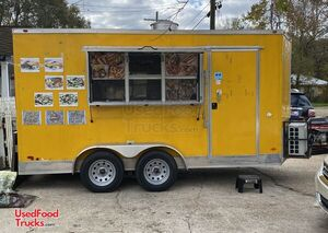 2018 Freedom 7' x 14' Mobile Kitchen Food Concession Trailer.