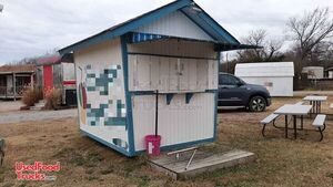 Tropical Sno Shaved Ice Concession Stand  / Used Snowball Stand.
