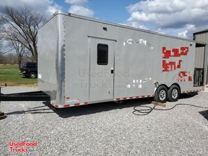 2019 Freedom 8' x 26' BBQ Food Concession Trailer with Porch.