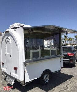 Brand NEW 2020 - 5.5' x 7' Rolled Ice Cream Concession Trailer.