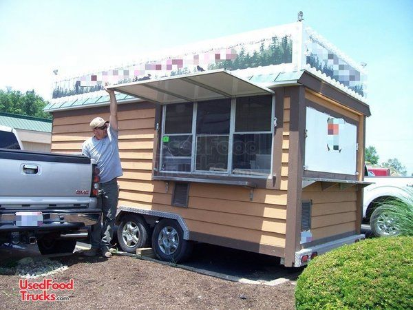 Used 8' x 20' Food Concession Trailer / Mobile Kitchen Unit. - Works Great.