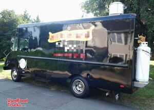 Inspected 14' Chevrolet P30 Diesel Food Truck / Commercial Mobile Kitchen.