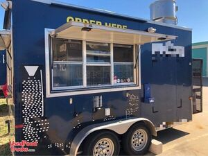 Very Neat 7' x 14' Mobile Food Concession Trailer/Mobile Food Unit.