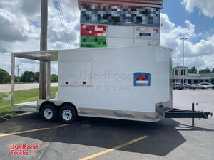 2020 Unfinished Concession Trailer with Porch / Mobile Business Trailer.