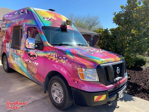 2014 Nissan NV 2500 HD Ice Cream Truck/Turnkey Mobile Ice Cream Business.