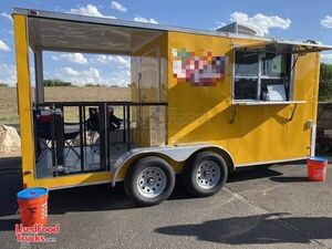 Turnkey Business Ice Cream Concession Trailer with Porch / Mobile Ice Cream Business.