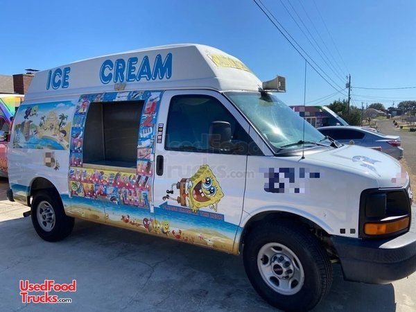 2005 GMC Savana 250 Ice Cream Truck / Mobile Ice Cream Business.