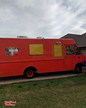 Used Chevrolet 27' Step Van Food Truck Mobile Kitchen on Wheels.