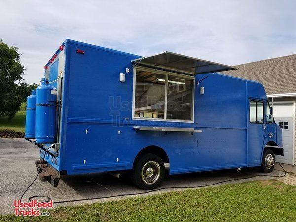 Turnkey Freightliner Utilimaster 18' Stepvan Kitchen Food Truck.