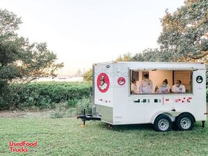 2021 Snapper 7' x 14' Turnkey Mobile Ice Cream Biz/Permitted Ice Cream Trailer.