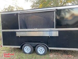 2020 8' x 16' Lightly Used Mobile Kitchen Food Concession Trailer.