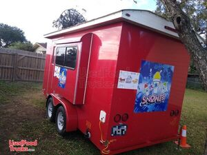 2015 - 6' x 14' Sno Pro Shaved Ice Concession Trailer / Mobile Snowball Biz.
