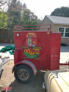 2003 Texas Corn Roaster 5' x 6' Corn Roasting Trailer Machine.