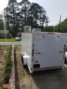 BRAND NEW Well-Equipped 2020 Snapper 7' x 16' Kitchen Food Trailer.